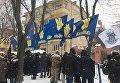 Блокада выборов президента России во Львове