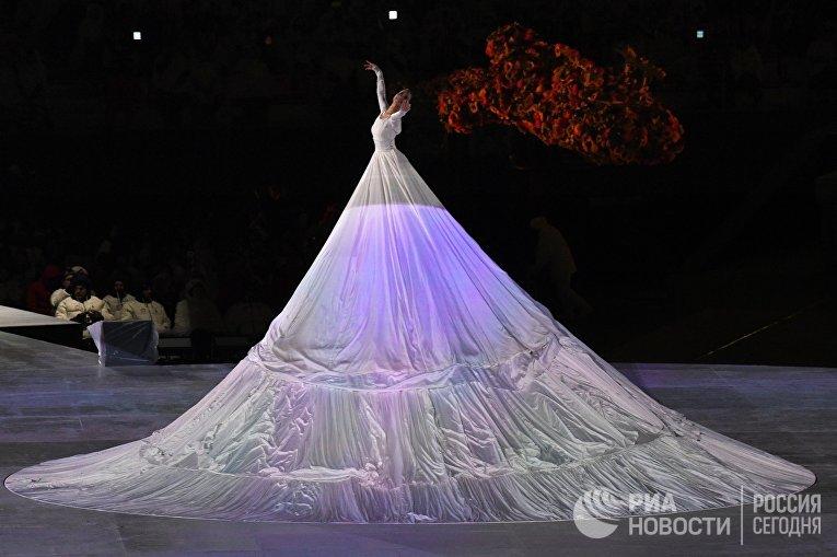 Церемония закрытия XII зимних Паралимпийских игр в Пхенчхане