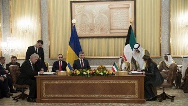 Порошенко в Кувейте