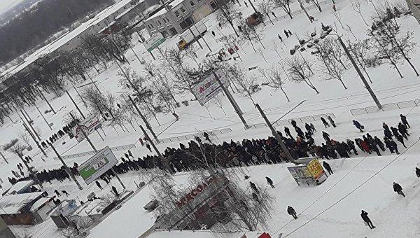 Снежный апокалипсис в Днепре, 19 марта 2018