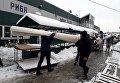 В Черновцах горит рынок