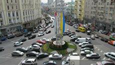 Площадь Льва Толстого в Киеве. Архивное фото