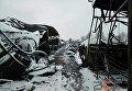 Последствия пожара на рынке в Черновцах