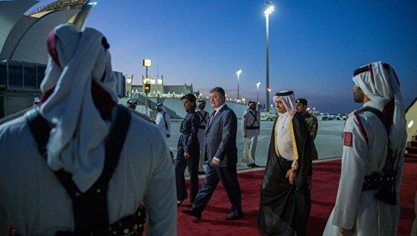 Визит Петра Порошенко в Катар