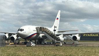 Спецборт прибыл за российскими дипломатами в Лондон