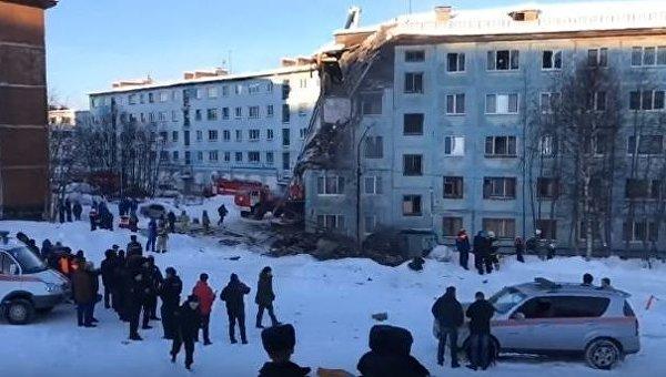 Взрыв в Мурманске