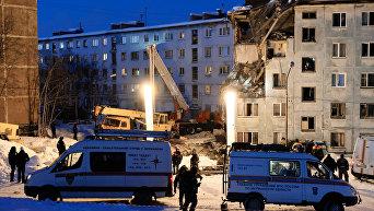 Взрыв бытового газа в жилом доме в Мурманске