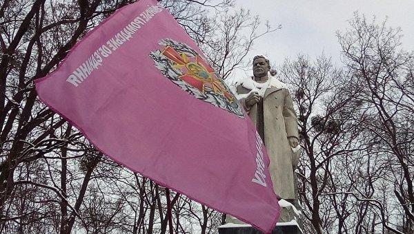 Акция протеста ветеранов МВД с требованием поднять пенсии