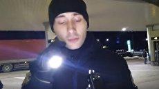 Патрульные полицейские на Волыни избили мужчину. Видео