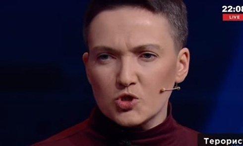 Надежда Савченко о готовности баллотироваться в президенты. Видео