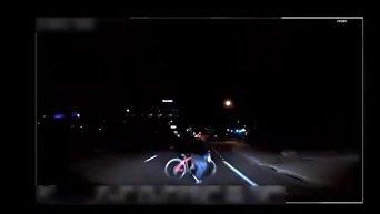 Момент смертельного ДТП с участием беспилотного авто Uber