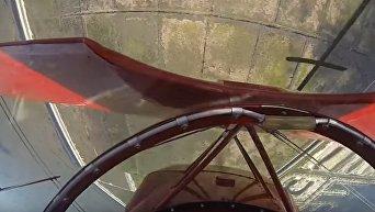 Пилоту удалось запустить отказавший двигатель в нескольких метрах от земли. Видео