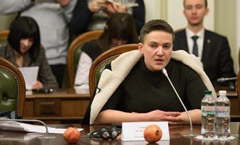 Регламентный комитет Рады обсуждает снятие неприкосновенности с Надежды Савченко