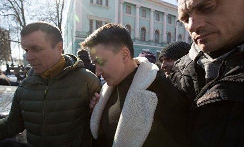 СБУ задержала депутата Рады Савченко