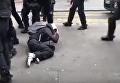 В Париже жестоко разгоняют протестующих. Видео