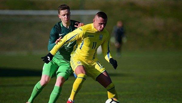 Молодежная сборная Украины (U-21) переиграла словенских сверстников втоварищеском матче