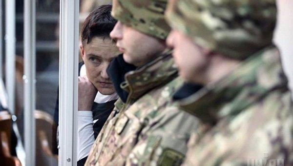 Заседание Шевченковского райсуда Киева по избранию меры пресечения Надежде Савченко