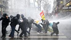 Общенациональная забастовка во Франции