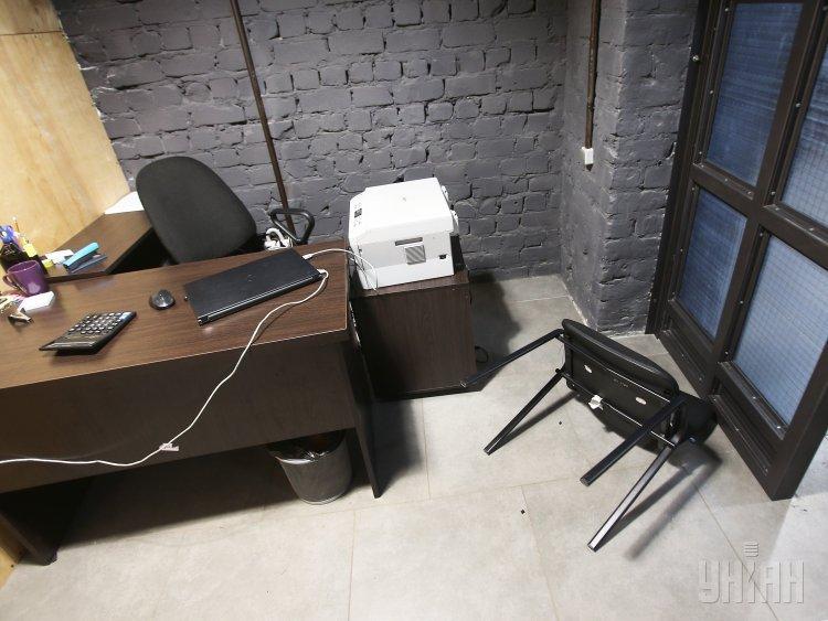 Полиция проводит следственные действия в штабе Нацкорпуса в Киеве