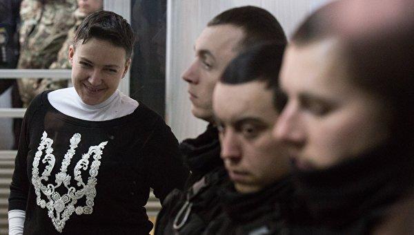 Суд по делу Н. Савченко в Киеве