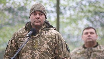 Командующий Объединенных сил (ООС) Сергей Наев