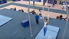 Выступление Игоря Радивилова на соревнованиях в Дохе. Видео