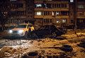 Авария в Оболонском районе Киева