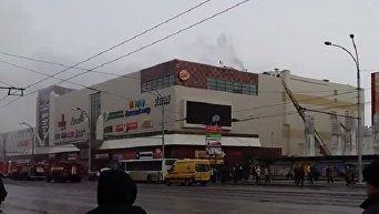Пожар в торговом центре Зимняя вишня в Кемерово (Россия)