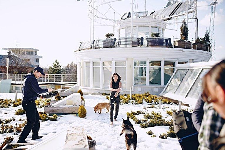 Руслана показала своих питомцев и дом