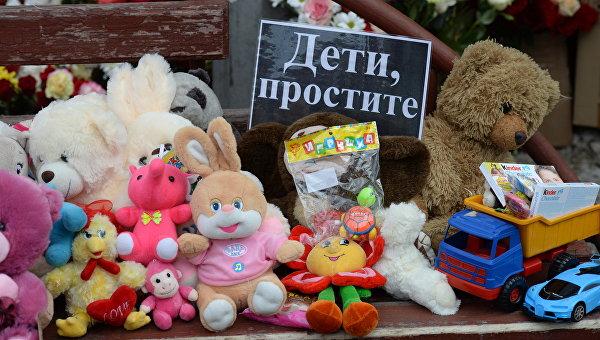 Детей вкинозале заперли вовремя пожара— гражданин Кемерова