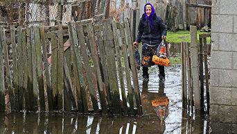 Дунай вышел из берегов и затапливает Одесскую область