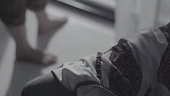 Стоп-кадр из ролика Надежды Савченко