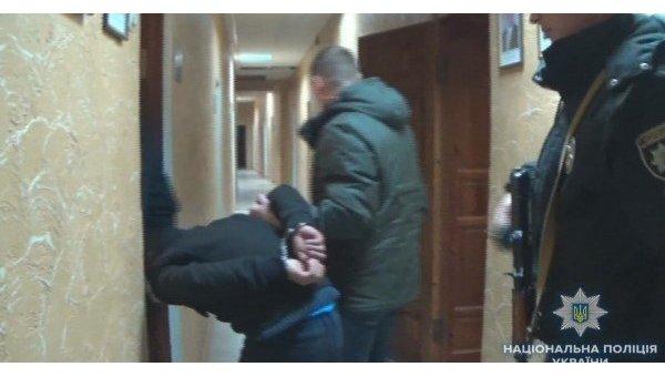Задержание преступников в Одесской области
