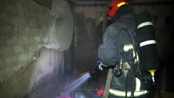 В Хмельницком произошел пожар в общежитии