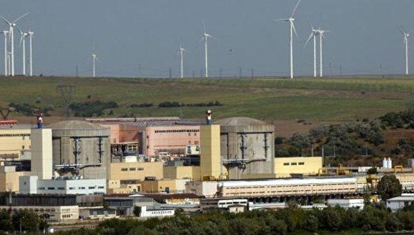 Атомная электростанция Чернаводэ в Румынии