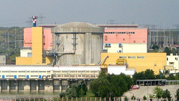 Первый энергоблок АЭС Чернаводэ в Румынии
