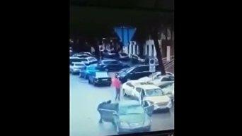 Дерзкое ограбление в Одессе. Видео