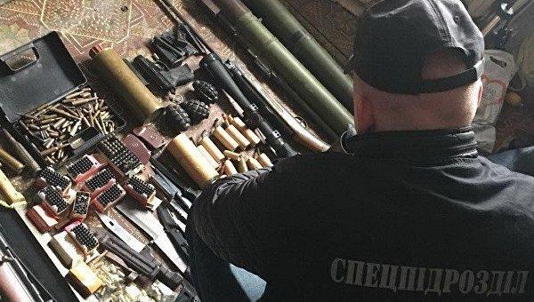 Оружие, вывезенное из зоны АТО