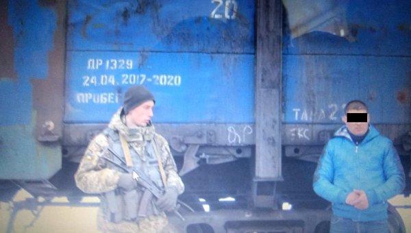На границе задержали парня, который в грузовом вагоне пытался сбежать в РФ