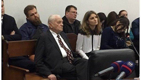 Степан Хмара на суде по Савченко