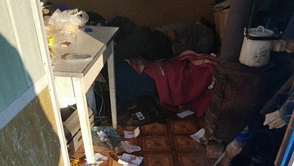 На месте убийства в Киеве