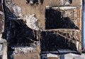 Сгоревшие кинозалы в торгово-развлекательном центре «Зимняя вишня» в Кемерово