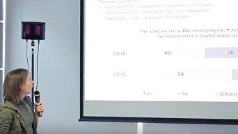 Желание переселенцев из Донбасса вернуться домой. Видео
