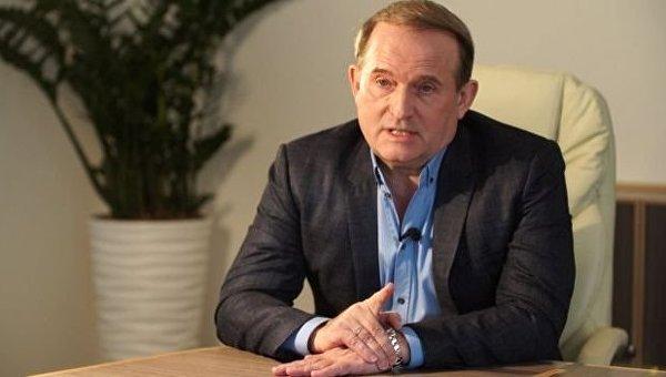 Лидер движения Украинский выбор - право народа Виктор Медведчук