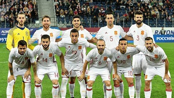 Сборная Испании по футболу