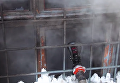 В Днепре вспыхнул пожар в школе. Видео