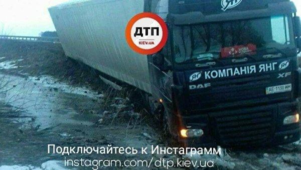 ДТП на трассе Киев-Харьков