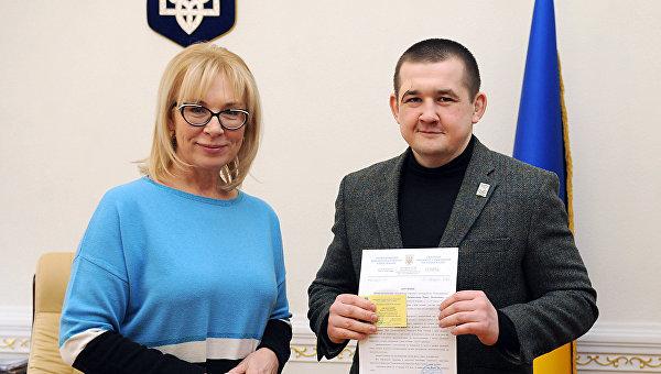 Людмила Денисова и Павел Лисянский