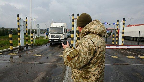 На украинской границе