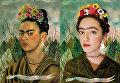 «Автопортрет, посвященный доктору Элоессеру», Фрида Кало